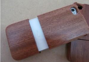 木製のオリジナルiphoneケース