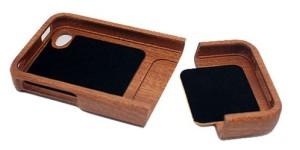 木製のオリジナルスマートフォンケース