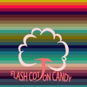 光るわたあめ flash cotton candy