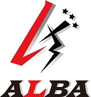 株式会社ALBAはペンライト・バック・タオル・展示会用バックなどオリジナルグッズの製作をいたします ロゴ